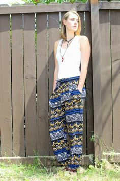 Sassy in the harems! Harems, Sassy, Parachute Pants, Harem Pants, Style, Fashion, Swag, Moda, Harem Trousers