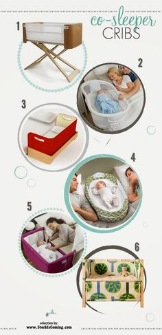 the Stork is Coming: Best co-sleeper cribs for a baby