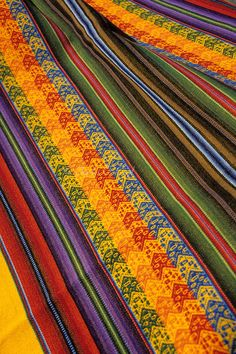 Colourful Fabric of Peru