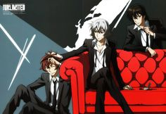 Tags: Zettai Karen Children, The Unlimited, Hyoubu Kyousuke, Andy Hinomiya, Minamoto Koichi, Official Art