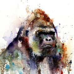 watercolor animals - Google Search