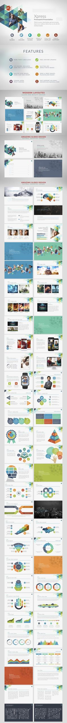 Xpress | Powerpoint templates