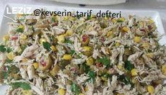 Lezzetli Tavuk Salatası nasıl yapılır? Lezzetli Tavuk Salatası Tarifi için malzeme listesi, kalori bilgisi, detaylı anlatımı, tarife ait fotoğraf ve yapılış videosu için tıklayınız. (134 kalori) Gönderen: Kevserin Tarif Defteri
