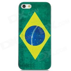 Quantity: 1 Piece; Color: Green + Yellow; Material: Plastic; Type: Back Cases; Compatible Models: Iphone 5; Other Features: Flag of Brazil pattern make your cell phone unique; Protects the device from dust shock and scratches; Packing List: 1 x Back case; http://j.mp/1ljTGBt