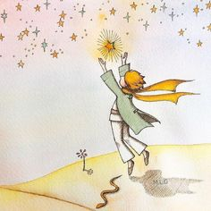 Artist Project, The Little Prince, Going Home, Dreaming Of You, Watercolor Paintings, Doodles, Artsy, Animation, Cartoon