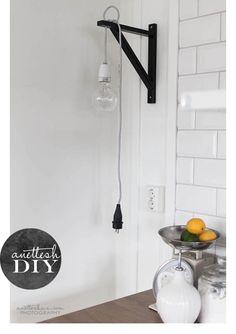 DIY: una lampara de estilo nórdico | Decorar tu casa es facilisimo.com