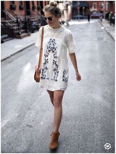 **** LOVE this white embroidered baby doll. Great boho look for Spring Summer!    Stitch fix fashion trends. Stitch Fix Fall, Stitch Fix Spring Stitch Fix Summer 2016 2017. Stitch Fix Fall Spring fashion. #StitchFix #Affiliate #StitchFixInfluencer