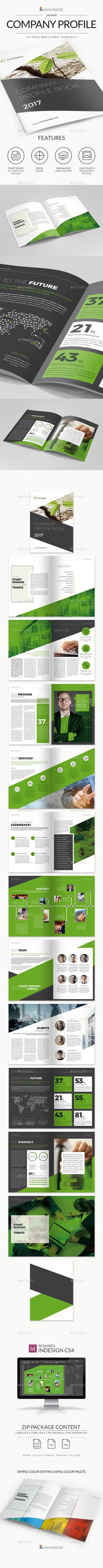 Company Profile brochure 2017 — Photoshop PSD #portfolio #design • Download ➝ https://graphicriver.net/item/company-profile-brochure-2017/18823239?ref=pxcr