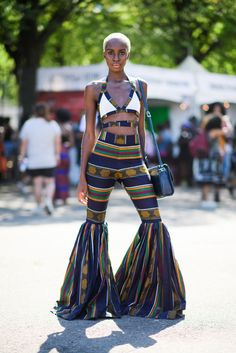 The Best Street Style From Brooklyn's 2016 Afropunk Music Festival  - ELLE.com