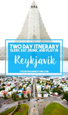 Where to go in Reykjavik if you only have 48 hours in the city: http://toeuropeandbeyond.com/48-hours-reykjavik-things-to-do/ #Iceland #travel