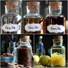 18 Best Homemade Extracts For Cooking & Gift Giving | Homemade extracts are easy and inexpensive to make. Make flavors to suit your fancy.