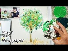 Bath Sponge Painting Techniques | Basic Easy Painting Idea - YouTube