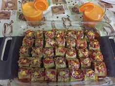 Savory Crackers Recipe, Corn Rolls, Roll Ups, Italian Recipes, Lasagna, Zucchini, Spinach, Vegetables, Mini