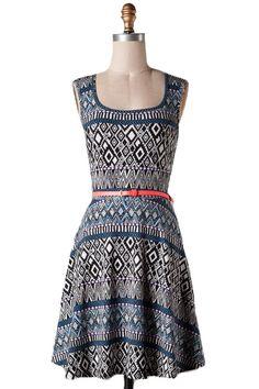 Daydream Believer Printed Dress