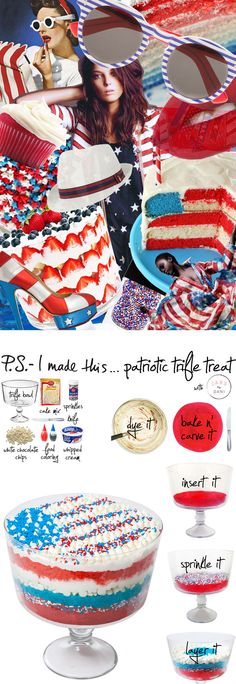 P.S.- I made this...Patriotic Trifle Treat with #JARSbyDANI   #PSIMADETHiS #DIY