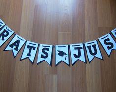 Handmade/Customized Graduation Banner, Congratulations Banner