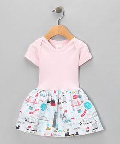 7c9dbd3502f Alejandra Kearl Designs Pink World Tour Dress - Infant