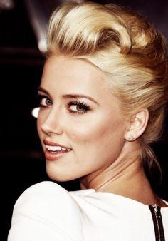 Amber Heard. love her face