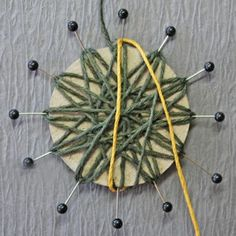 Garden of Grace: Wonderful Father and Twine Flower Tutorial Update for Really Reasonable Ribbon Twine Flowers, Yarn Flowers, Diy Flowers, Crochet Flowers, Paper Flowers, Making Fabric Flowers, Flower Making, Twine Crafts, Diy Crafts