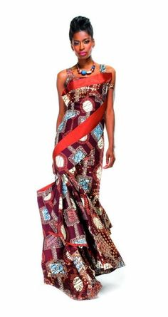 Ankara Style For Ladies - DeZango Fashion Zone ~African fashion, Ankara, kitenge, African women dresses, African prints, Braids, Nigerian wedding, Ghanaian fashion, African wedding ~DKK