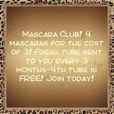 Email me today to join my Mary Kay Mascara Club! valeriedusing@marykay.com  www.marykay.com/valeriedusing