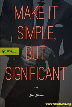 Make it simple!  In Mibi, we want you to smile, we want to motivate you to get everything that you want and doing your life more easy Know us! www.mibilletera.org Mibi, Near you!