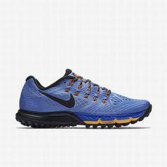 promo code 039ce 10433  127.66 nike zoom terra kiger 2,Nike Womens Chalk Blue Racer Blue Hyper  Orange Black Air Zoom Terra Kiger 3 Running Shoe