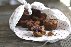 Wow butter and jelly muffins sub wow butter, egg, coconut yogurt or vanilla soy milk