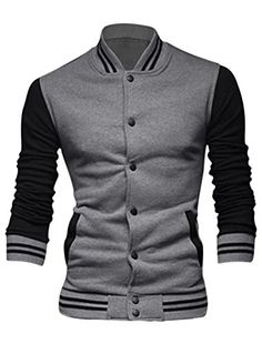17 UXCELL - Men Long Sleeve Stand Collar Button Down Casual Jackets Gray S uxcell http://www.amazon.com/dp/B00Z5BE3KW/ref=cm_sw_r_pi_dp_HAkHwb1G58JB7