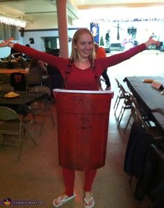 Red Solo Cup Costume - 2012 Halloween Costume Contest