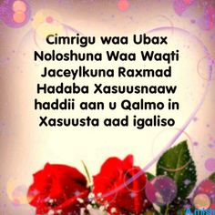 """1000+ images about Love messages """"Fariin Jaceyl"""" on ... Ubax Jacayl 2014"""