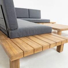 Wood Patio Furniture, Diy Outdoor Furniture, Diy Furniture Projects, Diy Home Decor Projects, Outdoor Rooms, Furniture Makeover, Furniture Design, Outdoor Sofa, Garden Sitting Areas