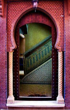 Marraquesh door