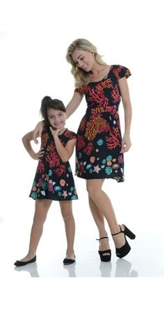 Vestido Algas Infantil