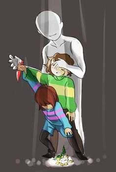 Wow. Most Undertale fanarts depict Chara pulling the strings in a genocide run, but this one pins the blame on the player. This is the whole point of the game, I think.