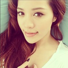 Michelle Phan. She's my beauty inspiration and my role model(one of my role models) She's amazing!