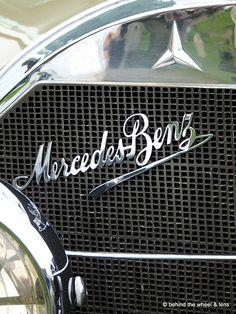 1929 Mercedes Benz 630K emblem from the 2010 Concours d'Elegance