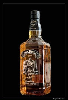 Jack Daniel's special scenes bottle
