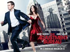 The Adjustment Bureau   Starring Matt Damon & Emily Blunt