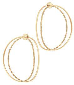 Boucles d'oreilles Delfina Delettrez http://www.vogue.fr/joaillerie/shopping/diaporama/tendance-bijoux-croles-double-or-et-argent/24455#boucles-doreilles-delfina-delettrez