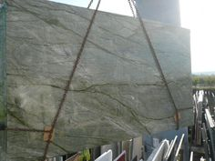 Ayers Green Granite - love the streaks in this