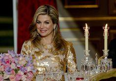 """PARIJS (ANP). Koning Willem-Alexander heeft donderdagavond in zijn tafelrede bij het staatsbanket in het Elysée tegenover president François Hollande """"opnieuw..."""