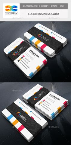 Color Business Card - Corporate Business Cards Download here : https://graphicriver.net/item/color-business-card/19373082?s_rank=37&ref=Al-fatih