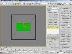 3DsMax5   15강 Example   모니터 만들기 1