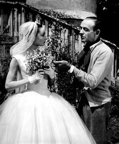 """audreyandmarilyn:  """" Audrey Hepburn and Fred Astaire in Funny Face (1957).  """""""