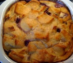 Sweet Tea and Cornbread: Blueberry French Toast Bake!