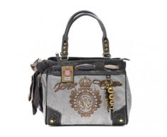 cheap - Cheap Juicy Couture Grey Daydreamer Handbags - Wholesale Discount Price    Tag: Discount Juicy Couture handbags Sale, Cheap Juicy Couture Handbags New Arrivals, Original Juicy Couture Purses outlet, Wholesale Juicy Couture bags store