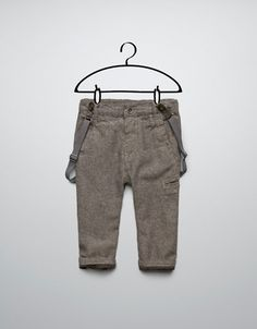 Trousers With Suspenders - Zara Baby Boy.
