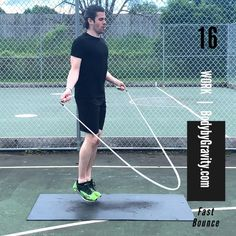 Follow along in this short but intense 5-minute jump rope workout. This quick circuit will target your abs and get your blood pumping with just a jump rope. Bodyweight Strength Training, Circuit Training, High Intensity Interval Training, Full Body Circuit, Jump Rope Workout, Belly Fat Loss, Six Packs, Pumping, Body Weight