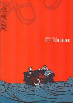 """""""Pilules Bleues"""" de Frédéric Peeters, recueil de petites histoires philosophiques (biblio : BD PEE)"""